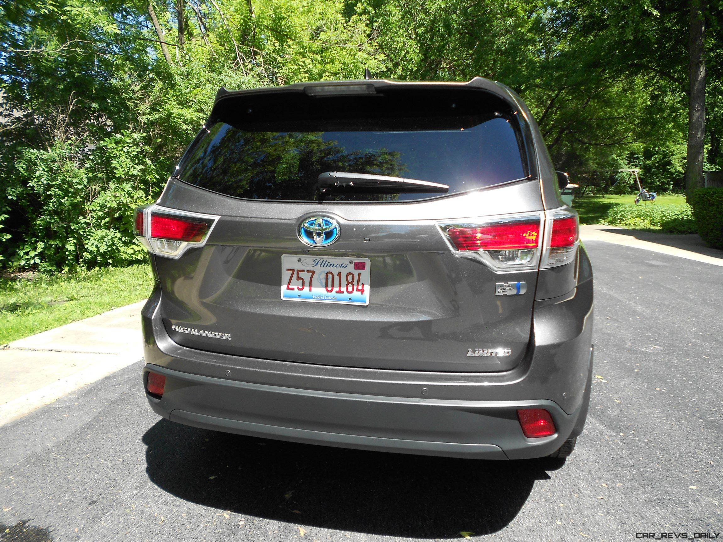 2016 toyota highlander hybrid limited road test review. Black Bedroom Furniture Sets. Home Design Ideas