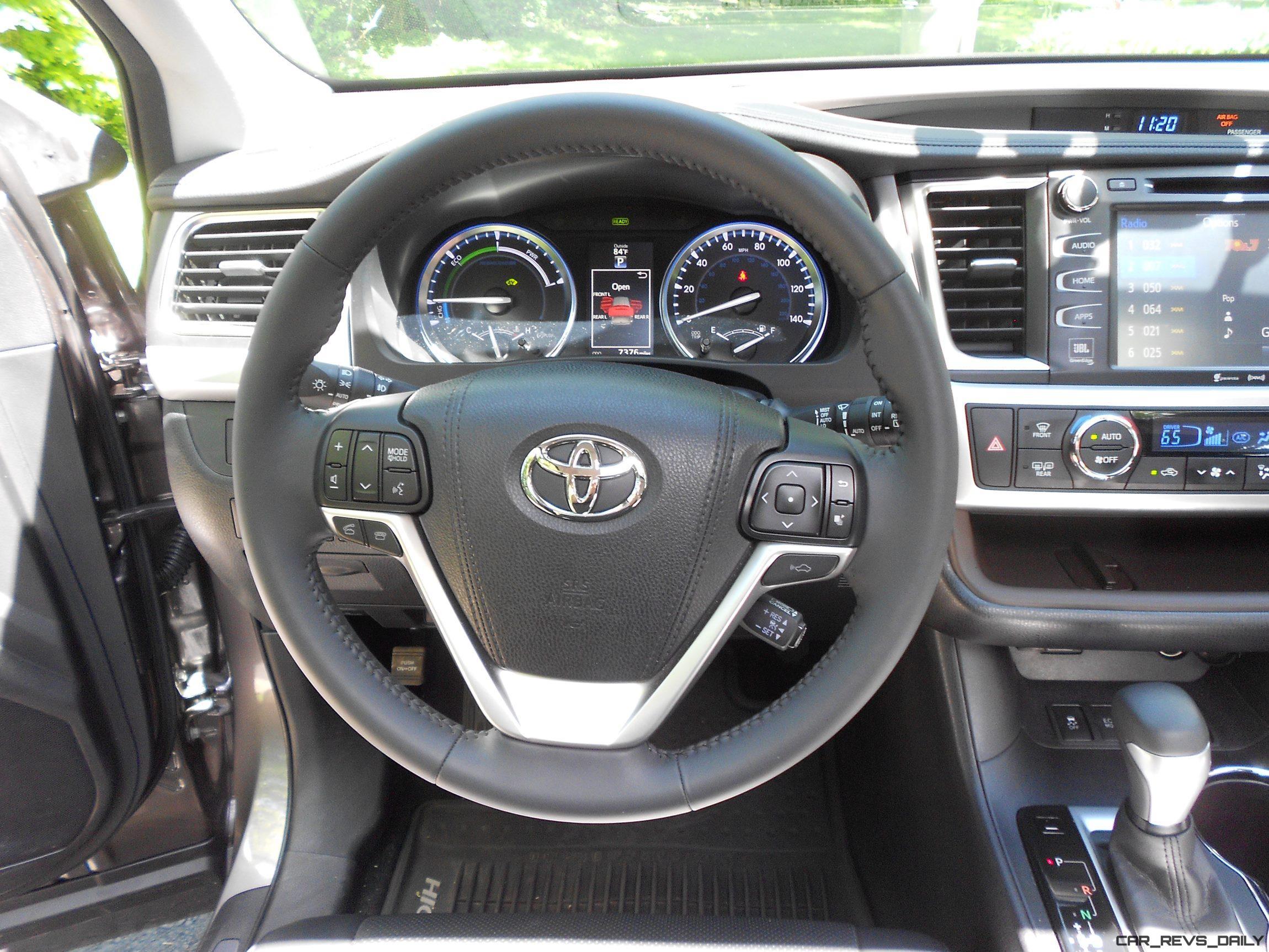 2017 Toyota Highlander Accessories >> 2016 Highlander Hybrid - Interior 9