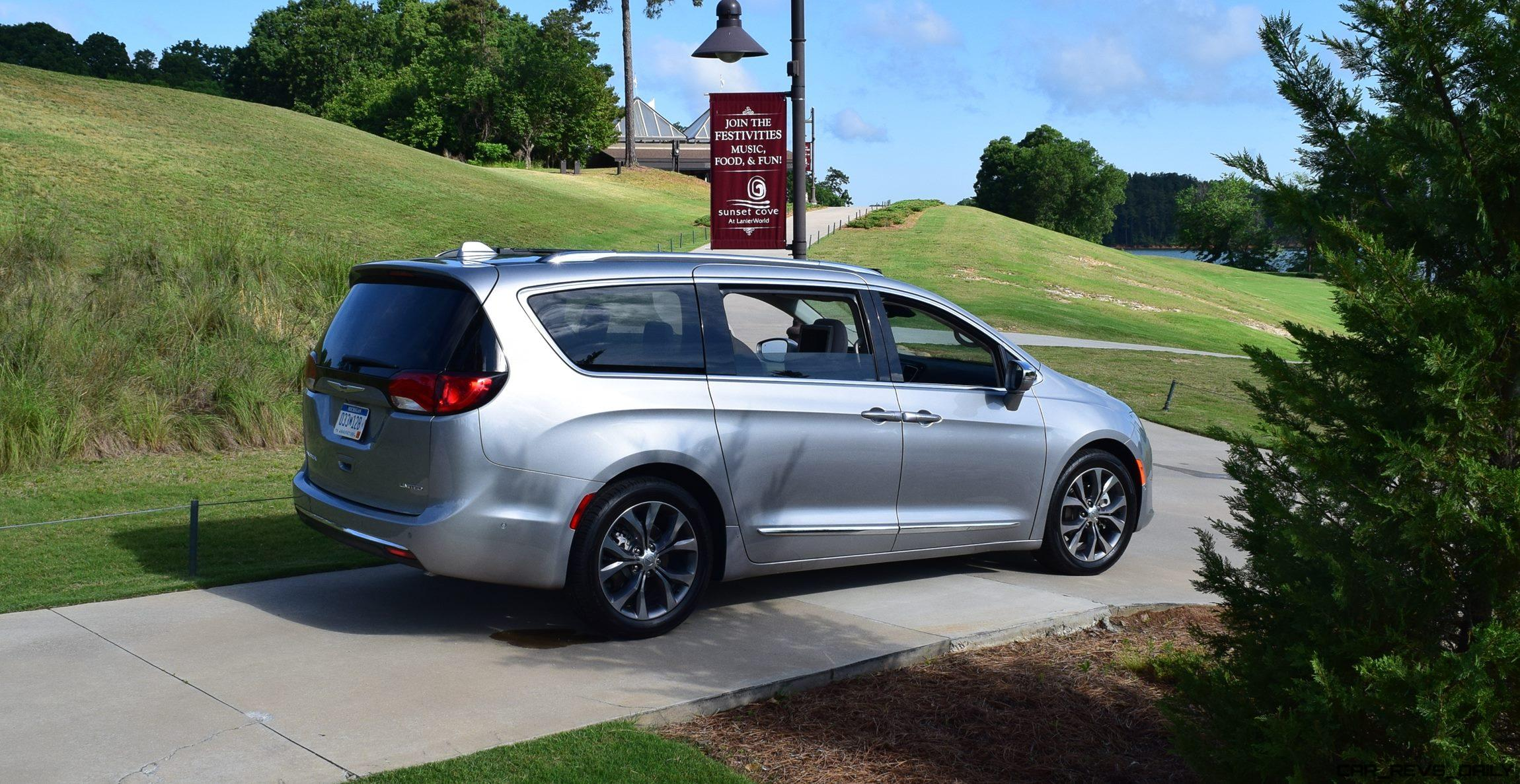 Chrysler Pacifica Minivan First Drive Review All New