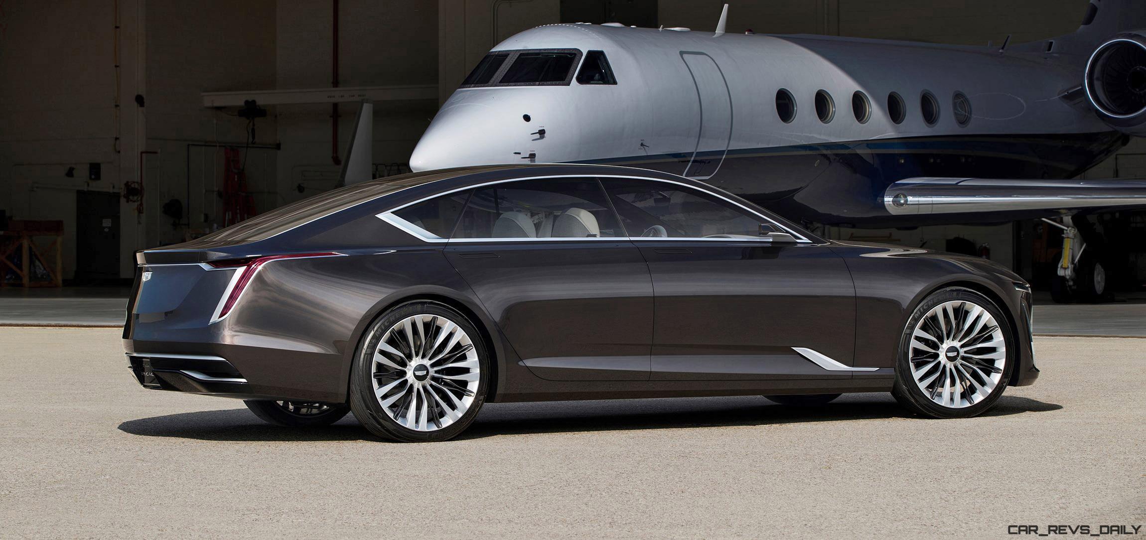 World Debut - 2016 Cadillac ESCALA Concept
