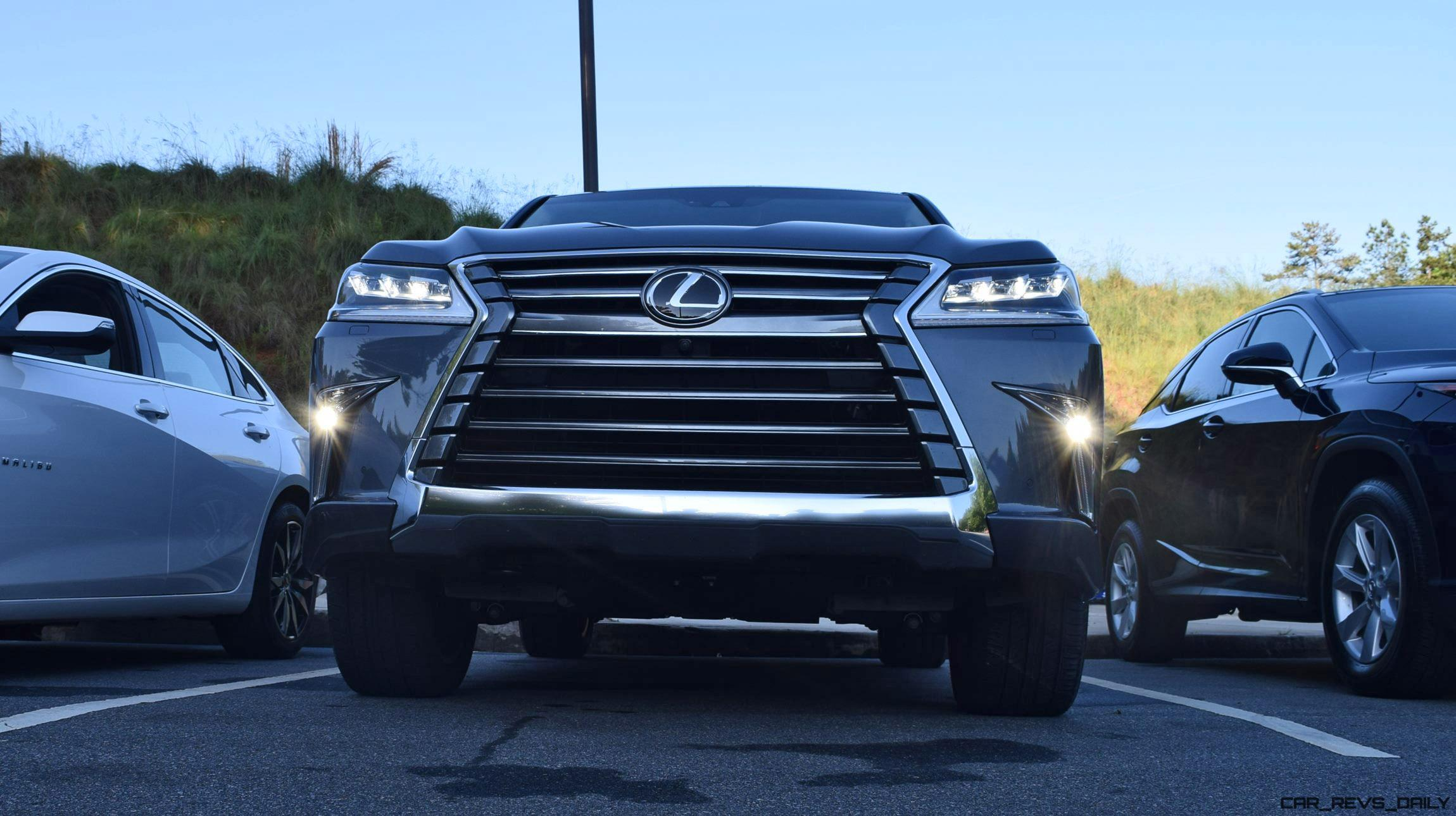 2016 Lexus LX570 Road Test Review Sport Plus DRIVE