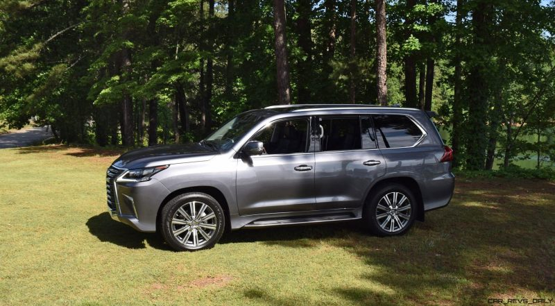 2016 Lexus LX570 - Exterior Photos 45