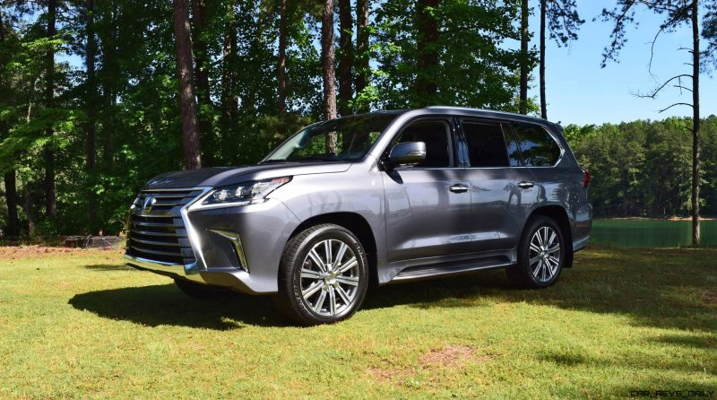 2016 Lexus LX570 - Exterior Photos 46