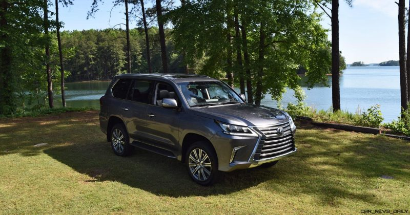 2016 Lexus LX570 - Exterior Photos 50