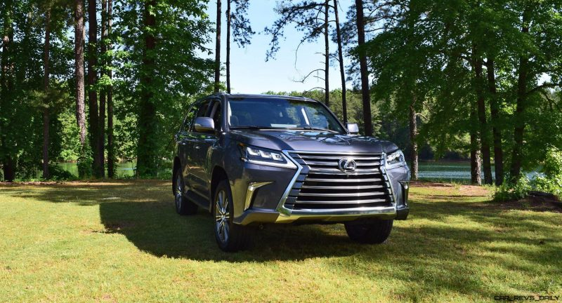 2016 Lexus LX570 - Exterior Photos 52