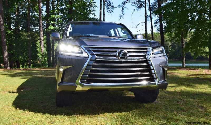 2016 Lexus LX570 - Exterior Photos 56
