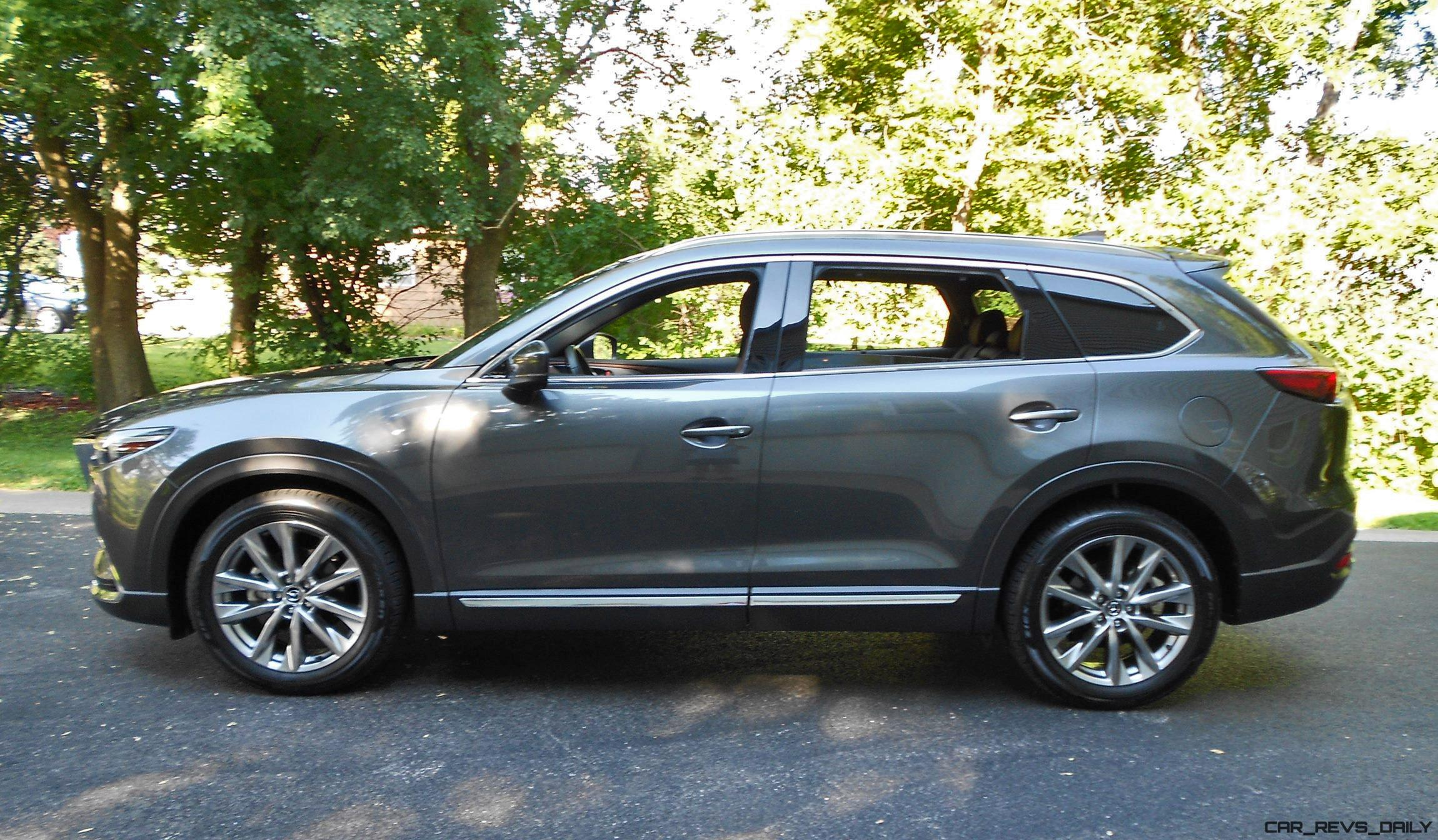 2016 mazda cx 9 signature awd road test review by ken hawkeye glassman. Black Bedroom Furniture Sets. Home Design Ideas