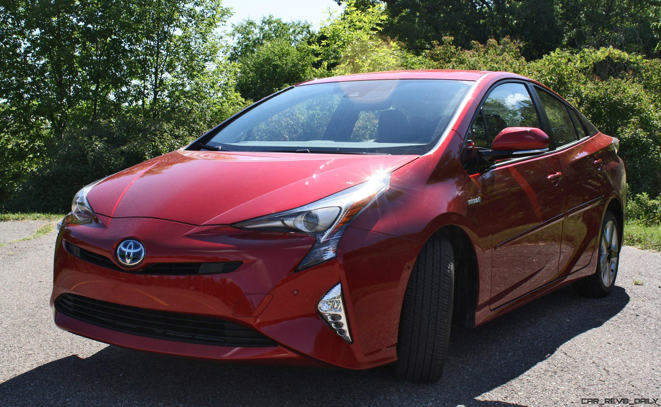 2016 toyota prius four touring road test review by carl malek car revs. Black Bedroom Furniture Sets. Home Design Ideas