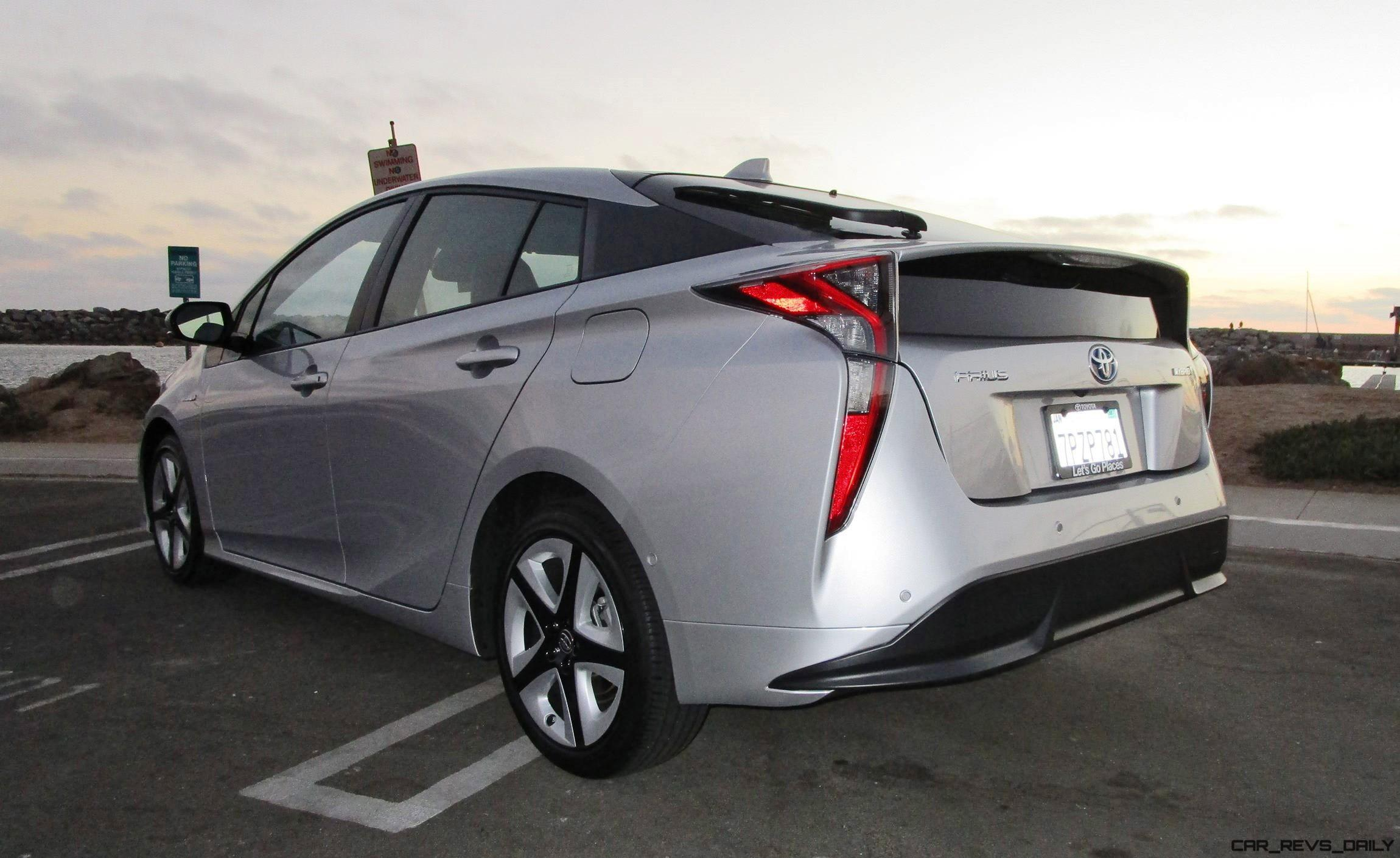 2016 toyota prius four touring road test review by ben. Black Bedroom Furniture Sets. Home Design Ideas