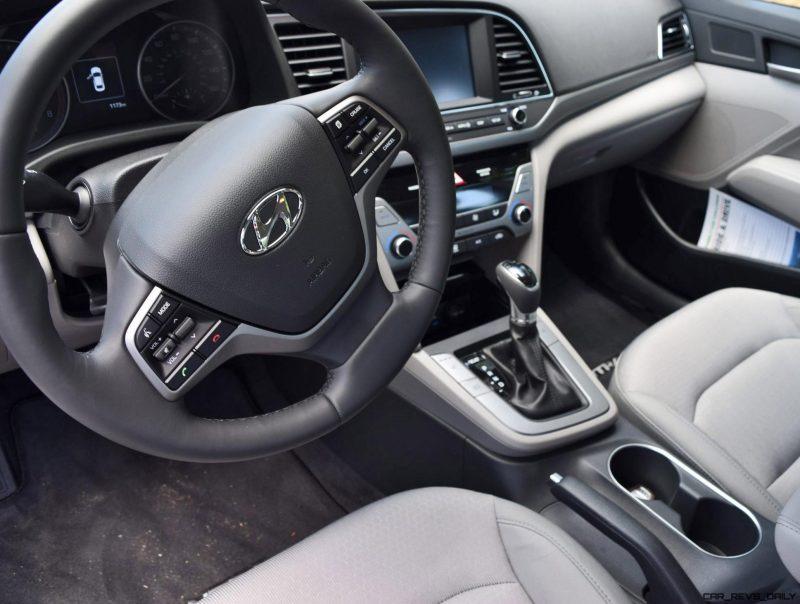 2017 Hyundai ELANTRA ECO - HD Drive Video Review 22