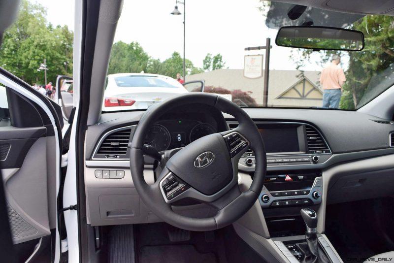 2017 Hyundai ELANTRA ECO - HD Drive Video Review 25