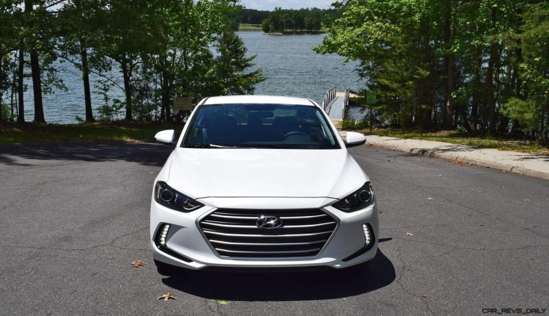 2017 Hyundai ELANTRA ECO - HD Drive Video Review 9