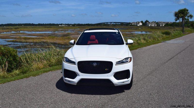 2017 Jaguar F-Pace S - White Exterior  10