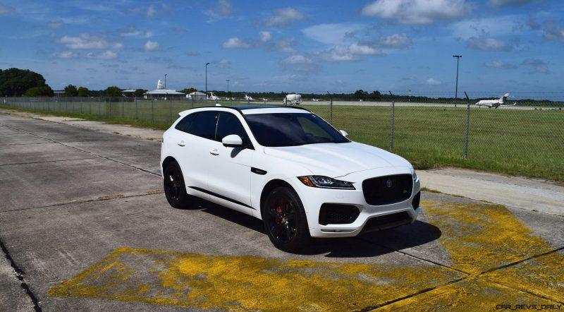 2017 Jaguar F-Pace S - White Exterior  106