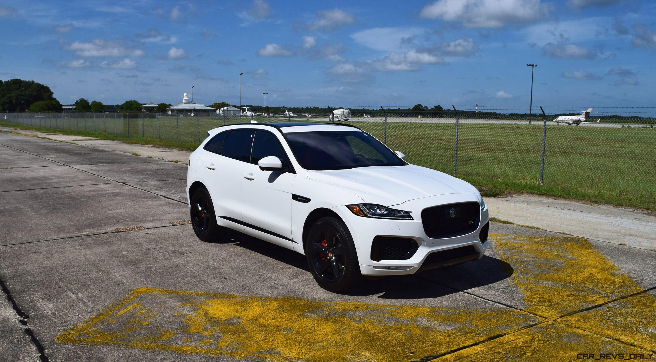 2017 Jaguar F Pace S Usa First Drive Review Video And 140 All New Photos Car Revs