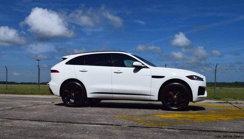 2017 Jaguar F-Pace S - White Exterior  110