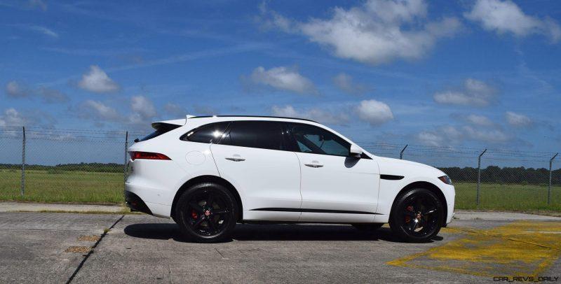 2017 Jaguar F-Pace S - White Exterior  112