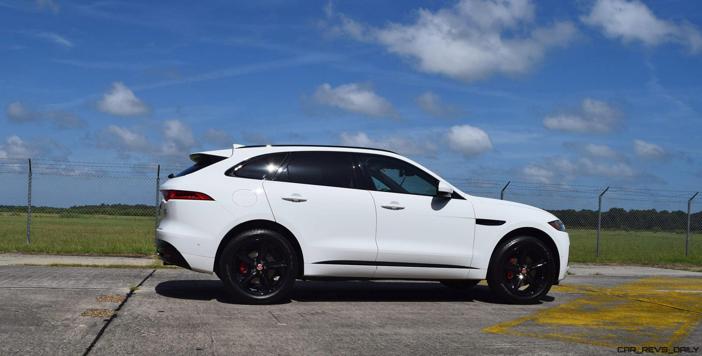 2017 jaguar f pace s usa first drive review video and 140 all new photos car revs. Black Bedroom Furniture Sets. Home Design Ideas