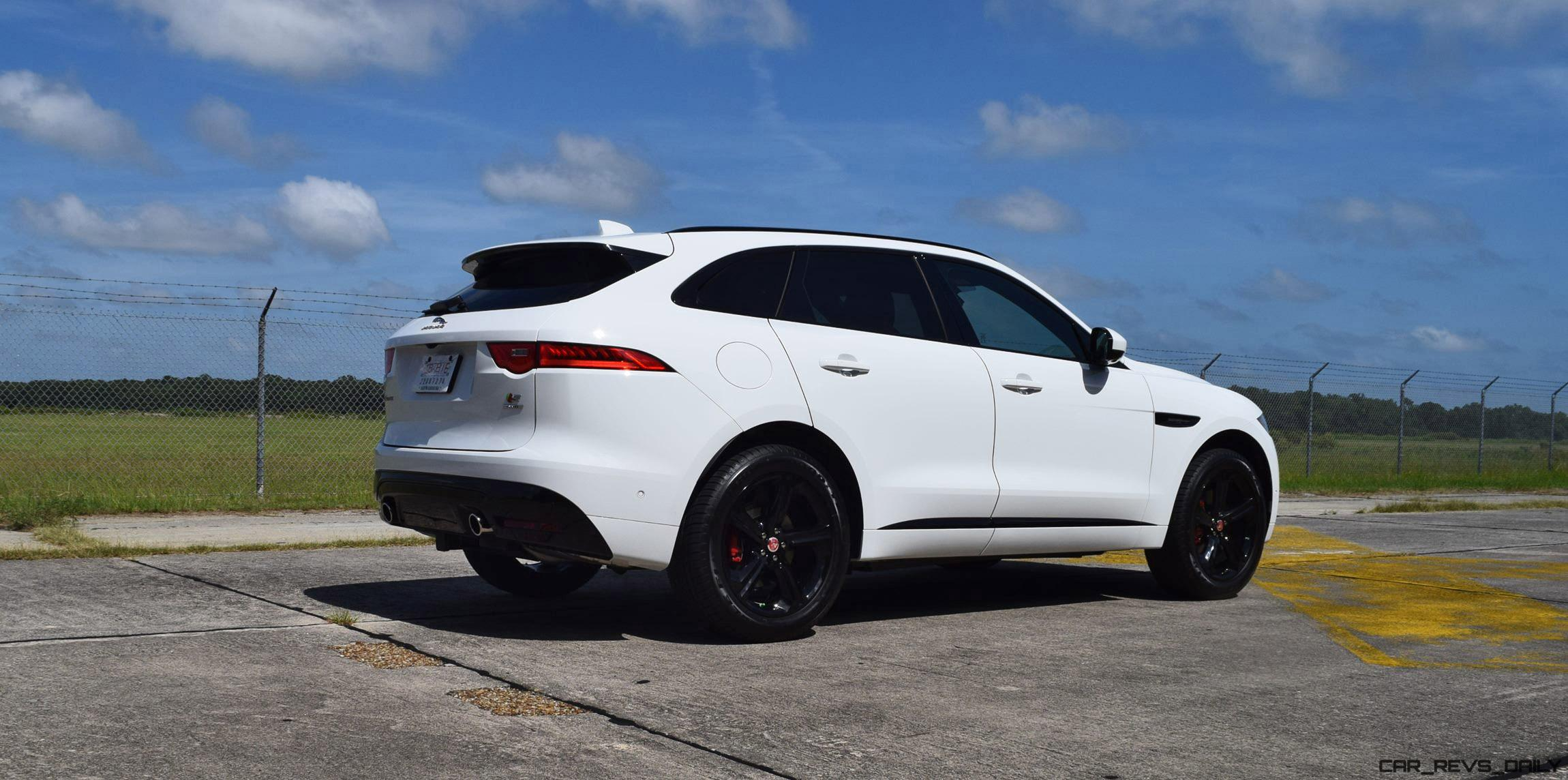 2017 Jaguar F Pace S Usa First Drive Review Video And