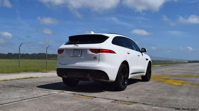 2017 Jaguar F-Pace S - White Exterior 115