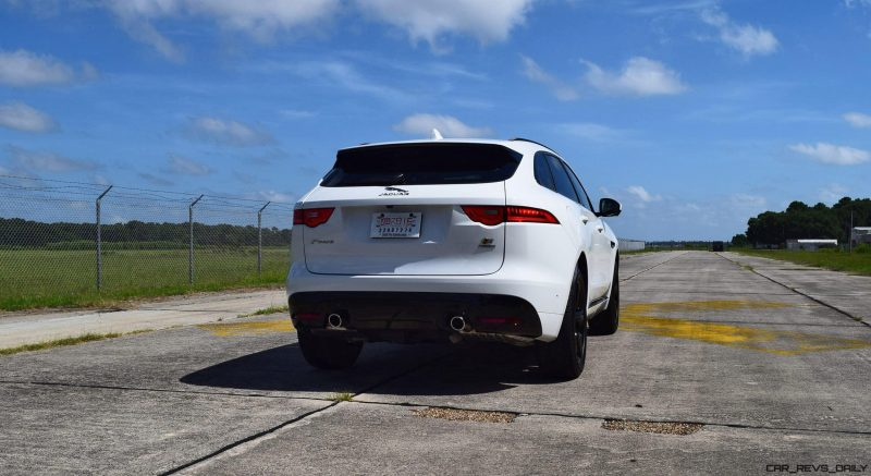 2017 Jaguar F-Pace S - White Exterior  116