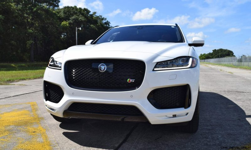 2017 Jaguar F-Pace S - White Exterior 118