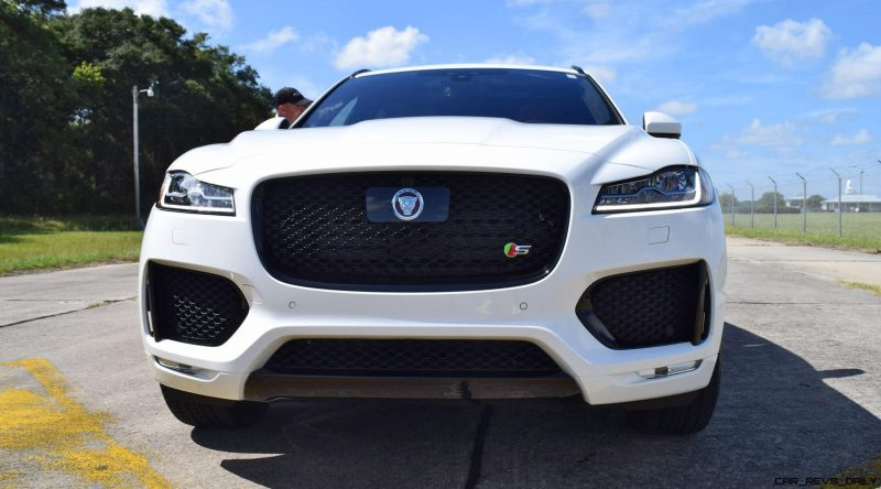 2017 Jaguar F-Pace S - White Exterior  119