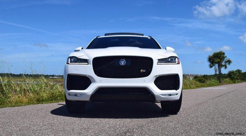 2017 Jaguar F-Pace S - White Exterior  12