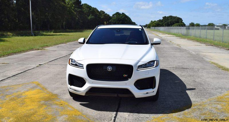 2017 Jaguar F-Pace S - White Exterior 129
