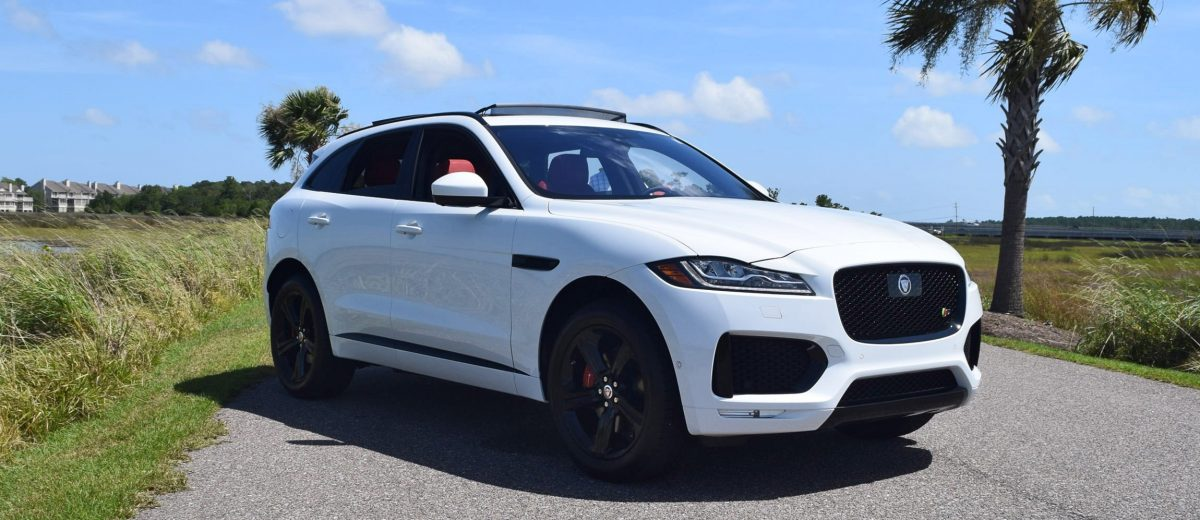 2017 Jaguar F-Pace S - USA First Drive Review, Video and ...