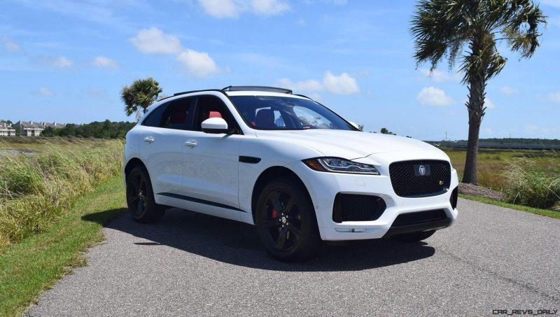 2017 Jaguar F-Pace S - White Exterior  13