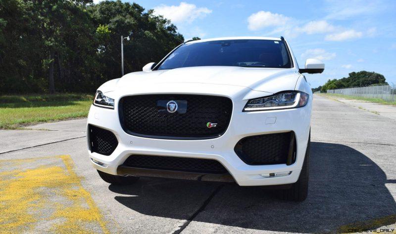 2017 Jaguar F-Pace S - White Exterior  133