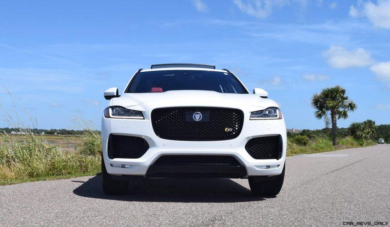 2017 Jaguar F-Pace S - White Exterior  17