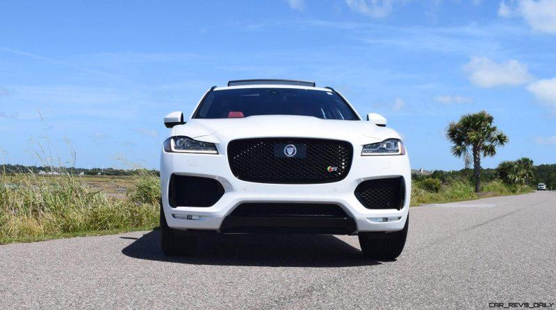 2017 Jaguar F-Pace S - White Exterior  18