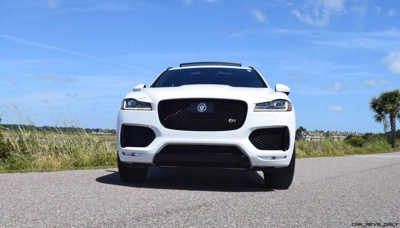 2017 Jaguar F-Pace S - White Exterior 19