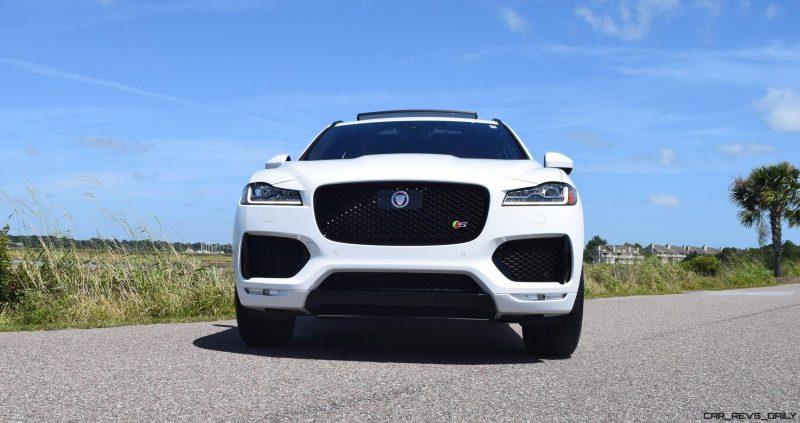 2017 Jaguar F-Pace S - White Exterior 20