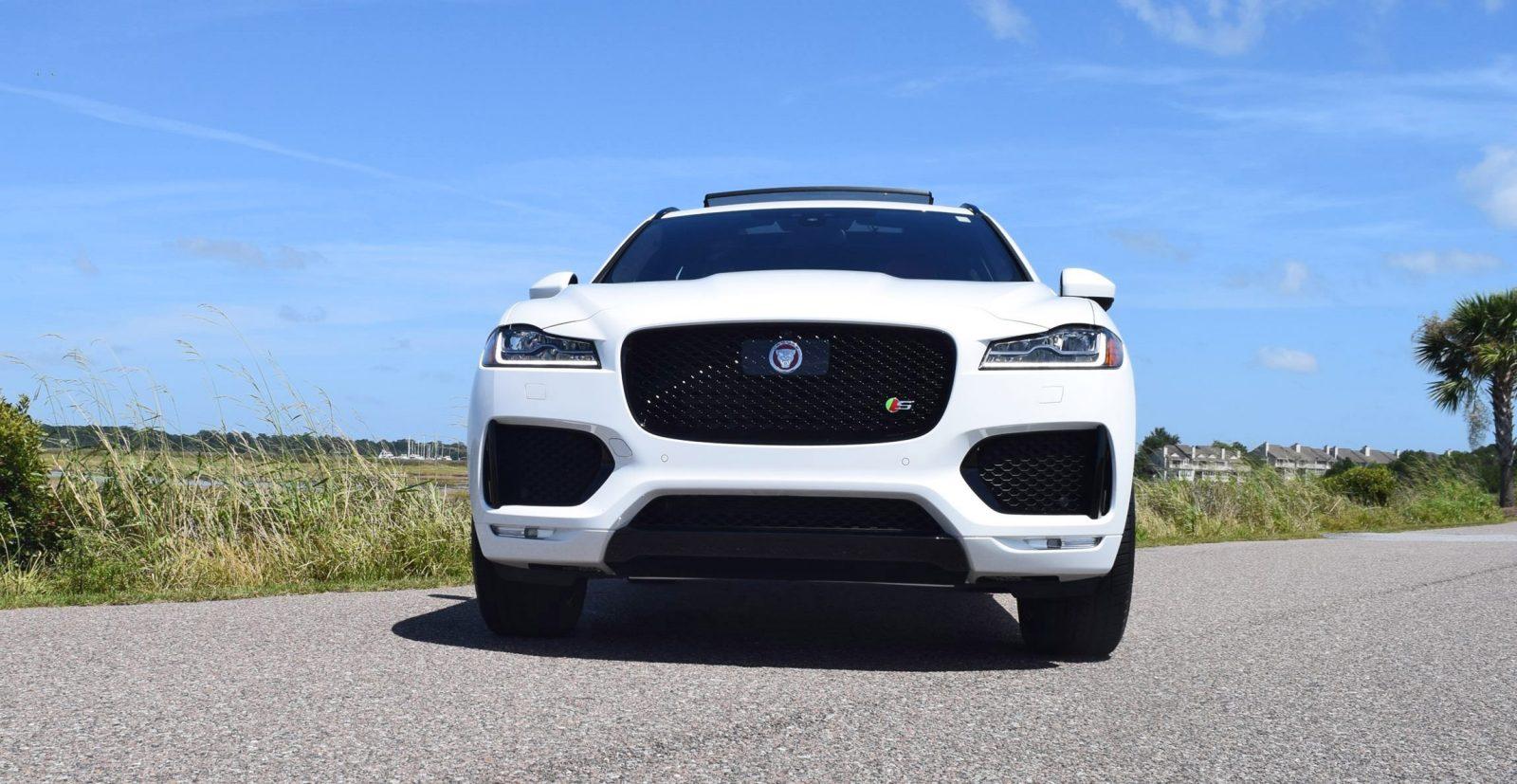 2017 Jaguar F Pace S White Exterior 20