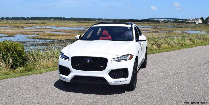 2017 Jaguar F-Pace S - White Exterior  26