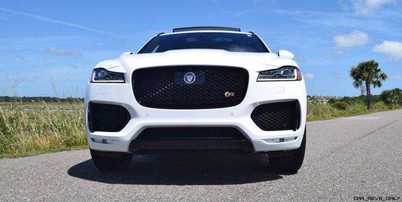 2017 Jaguar F-Pace S - White Exterior  28