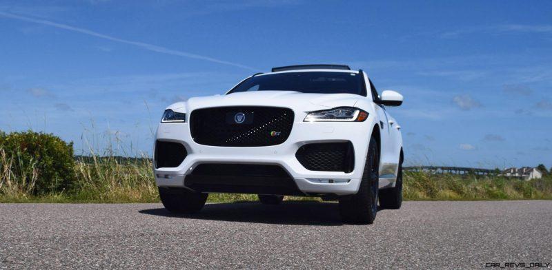 2017 Jaguar F-Pace S - White Exterior 3