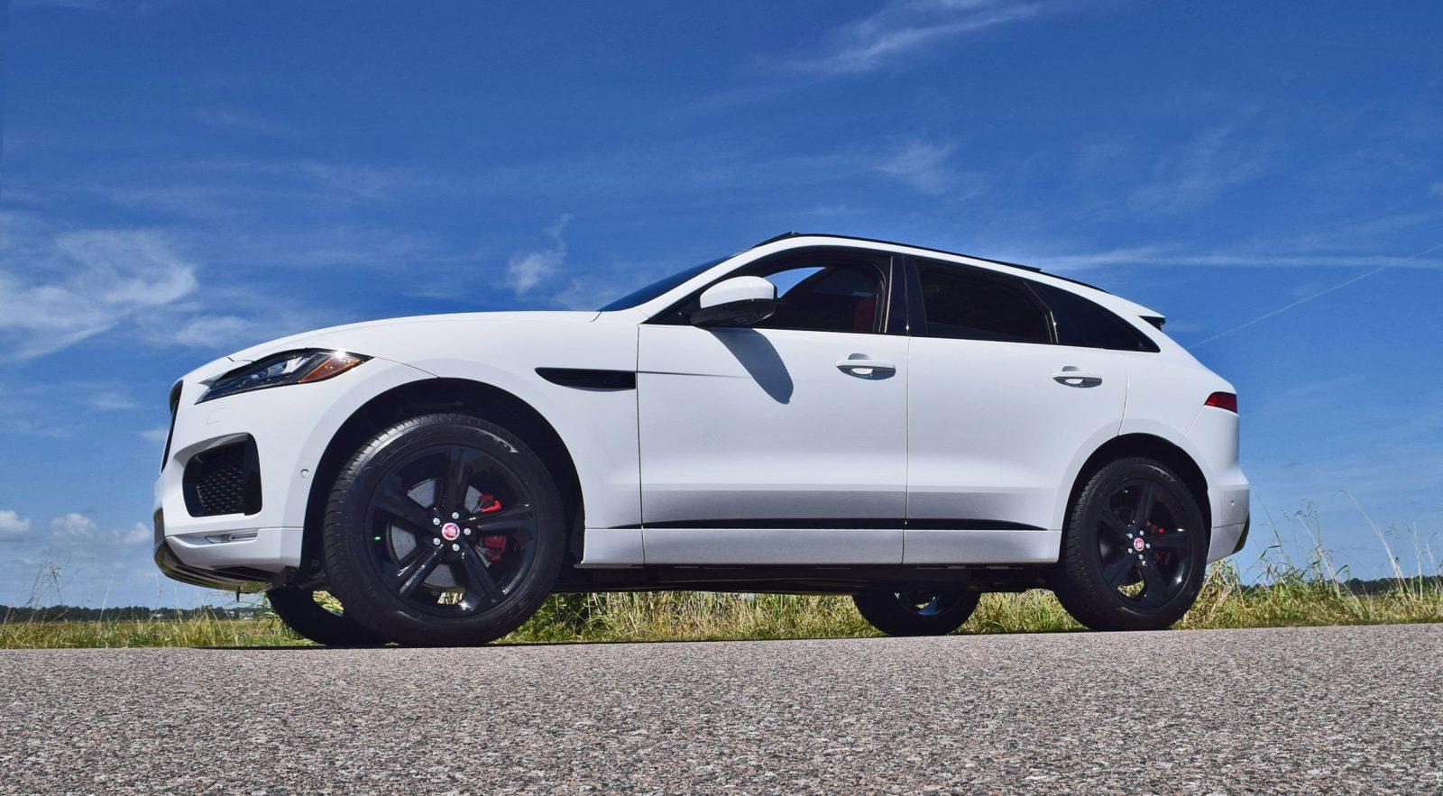 2017 Jaguar F Pace S White Exterior 31