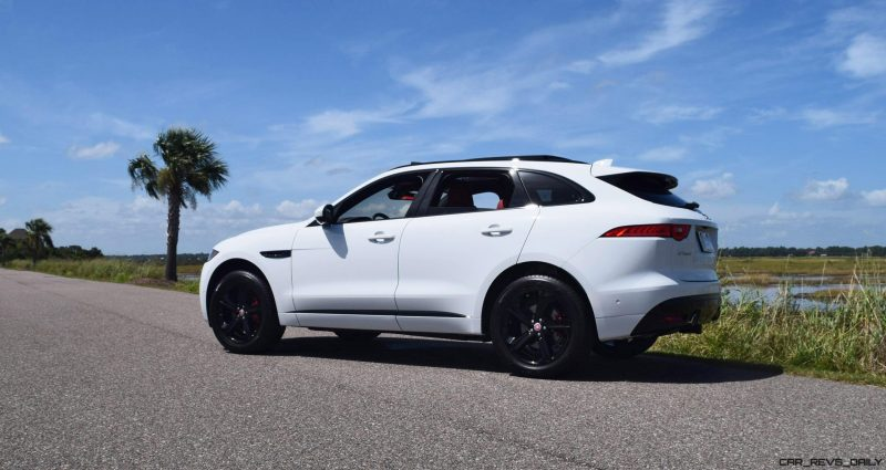 2017 Jaguar F-Pace S - White Exterior 34