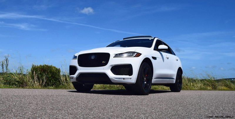 2017 Jaguar F-Pace S - White Exterior 4