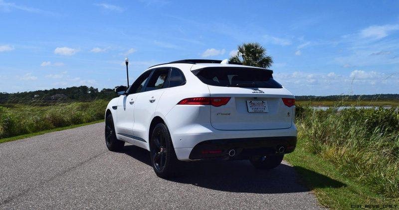 2017 Jaguar F-Pace S - White Exterior  43