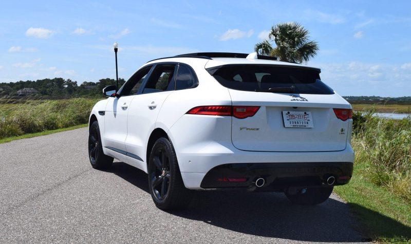 2017 Jaguar F-Pace S - White Exterior 44