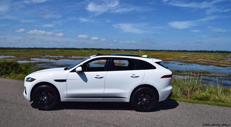 2017 Jaguar F-Pace S - White Exterior 46
