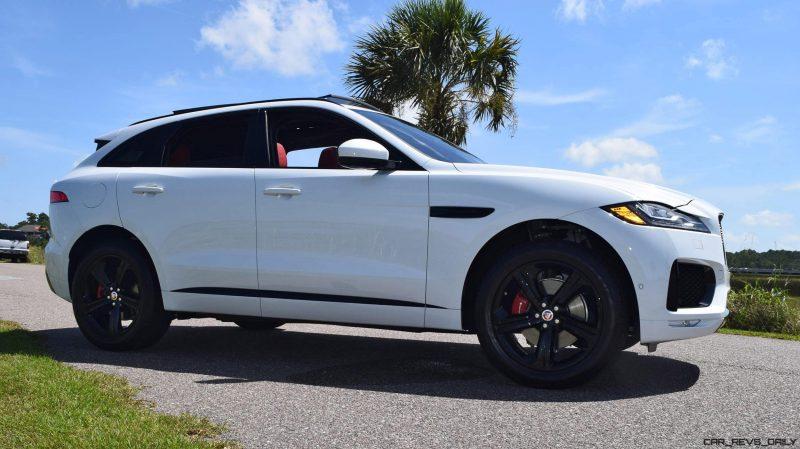 2017 Jaguar F-Pace S - White Exterior  48