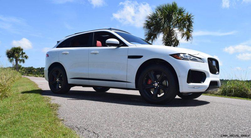 2017 Jaguar F-Pace S - White Exterior  49