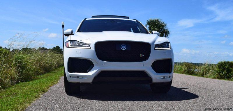 2017 Jaguar F-Pace S - White Exterior 57