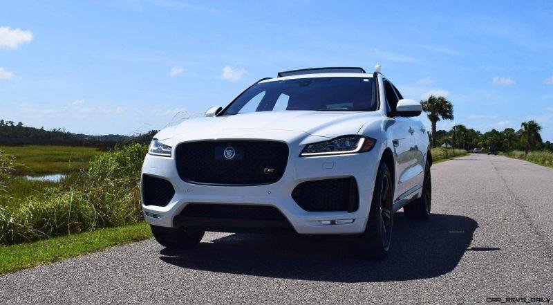2017 Jaguar F-Pace S - White Exterior 62